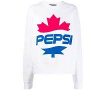 D2 x Pepsi Sweatshirt mit Logo-Print