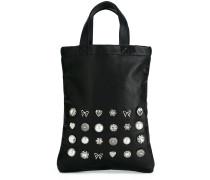 jewel-embellished tote bag