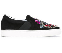 'Vamp' Slip-On-Sneakers mit Verzierungen
