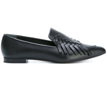 Loafer mit Fransen