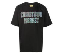 T-Shirt mit Hippie-Print