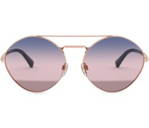 Sonnenbrille mit ovalen Gläsern