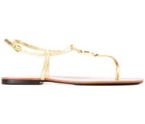 - Sandalen mit Logo - women