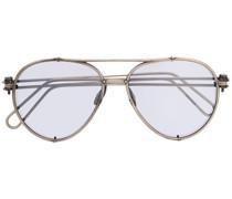 Pilotenbrille in Distressed-Optik