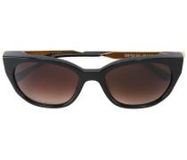 Butterfly-Sonnenbrille mit Farbverlauf