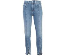 Jeans mit Schlitz