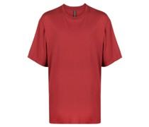 side slit cotton T-shirt