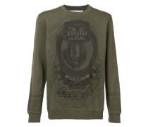 Sweatshirt mit Print - men - Baumwolle - M