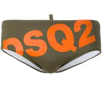 Badehose mit Logo-Print