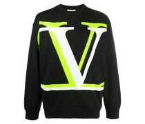 Sweatshirt mit Oversized-VLOGO