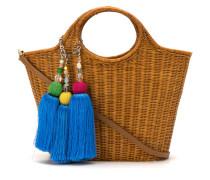 straw 'Bianca' tote bag