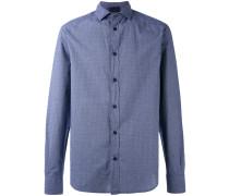 Hemd mit Punkten - men - Baumwolle - XL