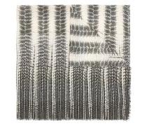 Schal mit Reptil-Print