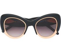 Cat-Eye-Sonnenbrille mit Oversized-Design