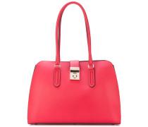 Handtasche mit Clipverschluss