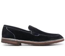 Loafer mit Kontrastnaht