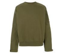 Fleece-Sweatshirt in Vintage-Optik