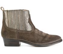 Cowboy-Stiefel aus Wildleder