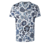 - T-Shirt mit Blumen-Print - men - Baumwolle - S