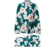 - Seidenjacke mit floralem Print - women - Seide