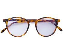 Runde Brille in Schildpattoptik