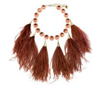 Halskette mit Federn
