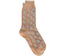 Socken mit Paisleymuster