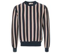 striped knitted sweatshirt