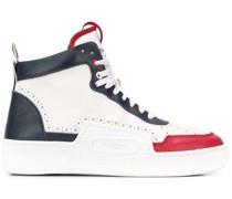 High-Top-Sneakers mit Streifendetail