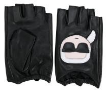 Karl fingerless gloves