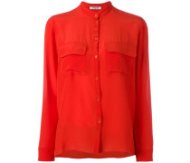 - Seidenhemd mit Mandarinkragen - women - Seide