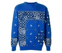 Pullover mit Bandana-Muster