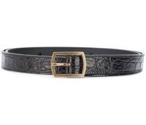 crocodile-effect belt