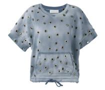 Sweatshirt mit Ösen - women - Baumwolle - M