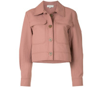 'Queenie' Cropped-Jacke