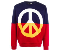 Sweatshirt mit Friedens-Symbol