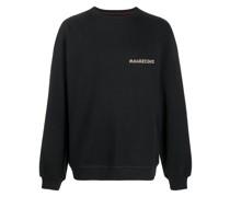 Pullover mit Drachenstickerei