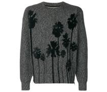 Pullover mit Palmenmotiven