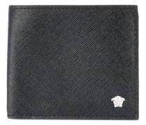 Medusa head wallet - men - Baumwolle/Leder