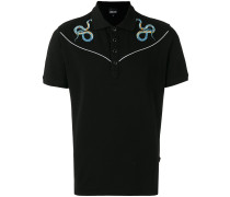 Poloshirt mit Schlangen-Verzierung - men