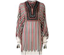 Seidenkleid mit Streifen - women