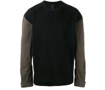 Sweatshirt mit Kontrastärmeln - men