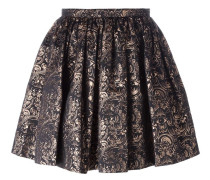 'Eyes' jacquard skirt
