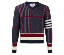 Pullover mit Oversized-Karomuster