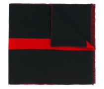 star-intarsia scarf - men - Wolle