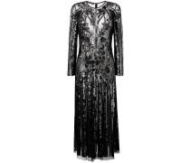 structured sheer dress