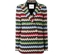 - chevron knit jacket - women