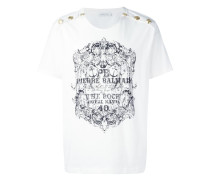 T-Shirt mit Knöpfen - men - Baumwolle - 46