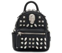 Shiny Skull mini backpack