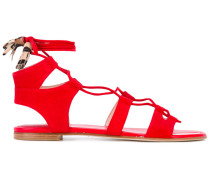 - Sandalen mit Riemen - women - Leder/Wildleder